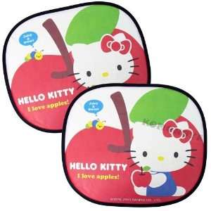 Hello Kitty Sun Block Shade Set   Sanrio Hello Kitty Car
