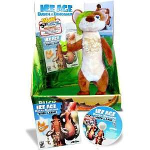 Ice Age Dawn of the Dinosaurs Exclusive Deluxe Plush Buck