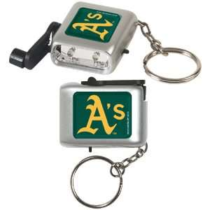 MLB Oakland Athletics LED Eco Light Keychain