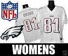 EAGLES TERREL OWENS WOMENS NFL FASHION NEW JERSEY SZ L