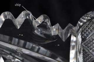 Gorgeous Large Antique ABP Cut Glass Punch Bowl w/ Base
