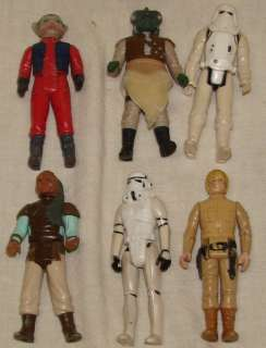 HUGE VINTAGE 70S 80s LOT OF 23 STAR WARS ACTION FIGURES