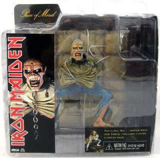 IRON MAIDEN Piece of Mind NEW ACTION FIGURE Official