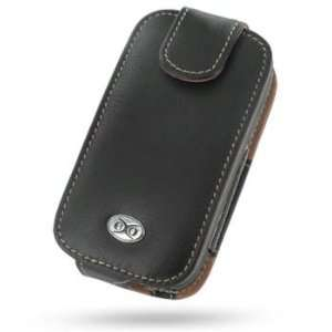 EIXO luxury leather case BiColor for Dopod C858 Flip Style