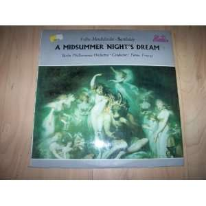 89 629 Midsummer Nights Dream BPO Ferenc Fricsay: Ferenc
