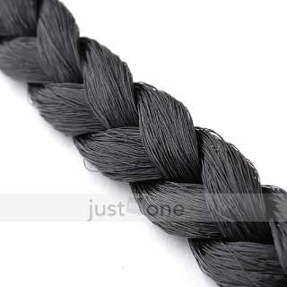 Headwear Hair Decoration Braid Wig Pigtail Elastic Head Band Rope