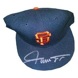 Willie Mays Autographed San Francisco Giants Hat   Autographed MLB