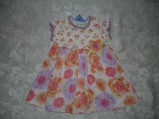SO PRETTY Girls BLUEBERI BOULEVARD Floral Dress 2T NWT