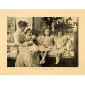 1903 Print Empress Tsarina Russia Portrait Royalty