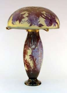Important & Rare E. Galle Cameo Glass Table Lamp,c1900  (15% OFF  25