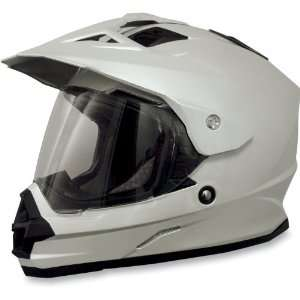 NEW AFX FX 39 DUAL SPORT MOTORCYCLE HELMET, PEARL WHITE