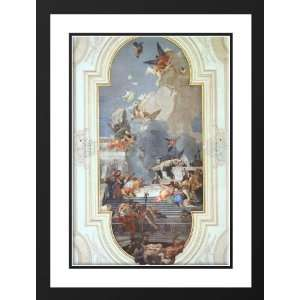 Tiepolo, Giovanni Battista 28x38 Framed and Double Matted