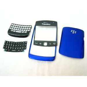 BlackBerry Curve 9350 9360 9370 ~ Blue Front+Back Cover