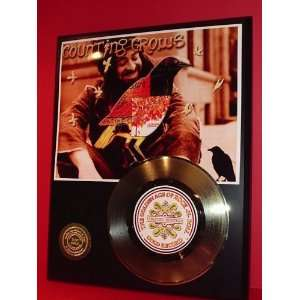 Outlet Counting Crows 24KT Gold Record Display LTD