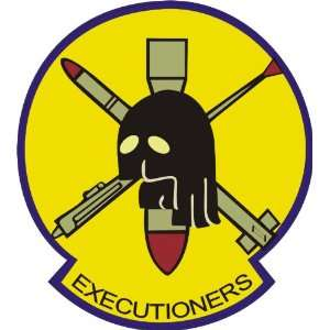 US Navy VF 114 Executioners Squadron Decal Sticker 3.8 6