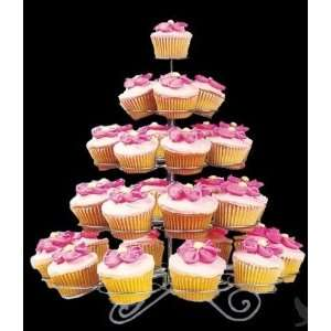 Dress My Cupcake Extra Large Wire Cupcake Stand   Holds 41