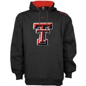 Nike Texas Tech Red Raiders Black Bump & Run Hoody