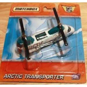 2009 2010 Matchbox White Arctic Airline Sky Busters ARCTIC