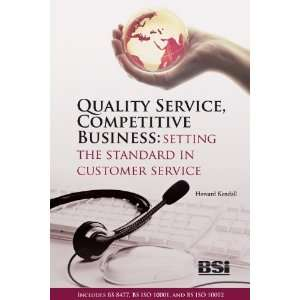 Business. Setting the standard in customer service (book & standards