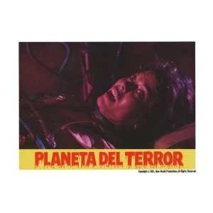 Planeta del terror, El   Movie Poster   11 x 17 Home