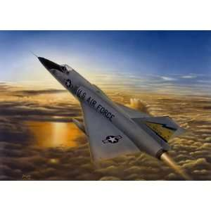 Delta Dawn Don Feight F 106 Delta Dart Print: Home