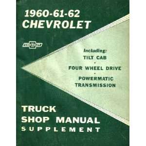 1960 1961 1962 CHEVY RUCK Shop Service Repair Manual