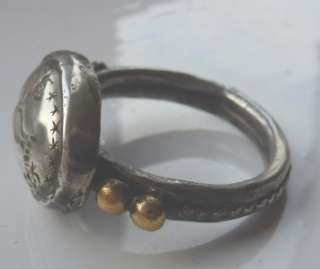 & GOLD BETHROTHAL INSCRIBED FEDE RING ANTIQUE c1500S 16thc