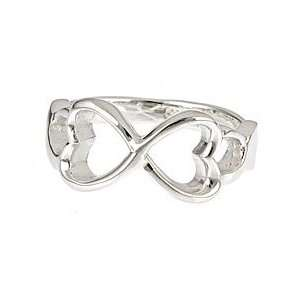 Heart Ring Size 6 (Sizes 5 9 Available)  Silver Jewelry