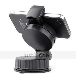 Round Cradle Car Mount Holder for iphone iPod PDA Cell Phone