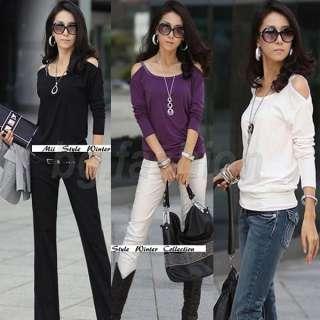 New Korea Womens Casual Shirts Tops Blouse 4 COLORS