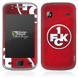 Design Skins for Samsung Galaxy Gio S5660   1. FCK Logo Design