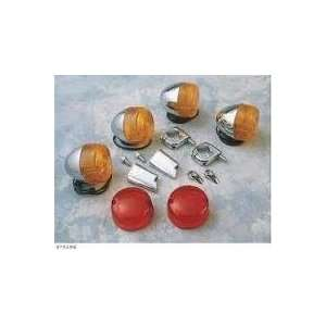 BkRider 0005 Dual Filament Complete Marker Lights Kits for