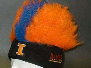 NCAA, Chill Out Headband Wig, ILLINOIS FIGHTING ILLINI