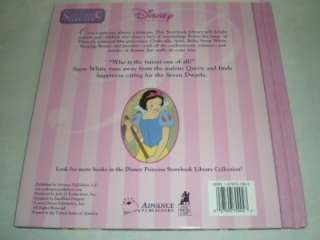 DISNEY Princess Storybook Library Vol. 4 SNOW WHITE and the SEVEN