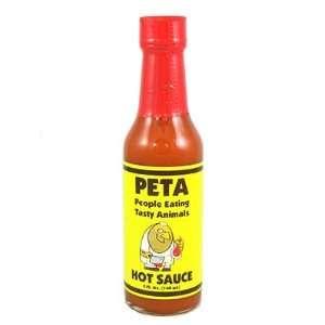 PETA Garlic Habanero Hot Sauce, 5oz.