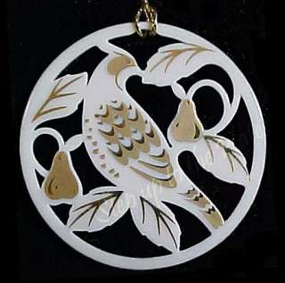 Lenox 12 Days Christmas Partridge in Pear Tree Ornament