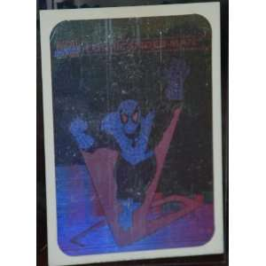 1990 Marvel Comics Spiderman Insert Hologram Very Rare