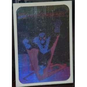 1990 Marvel Comics Spiderman Insert Hologram Very Rare