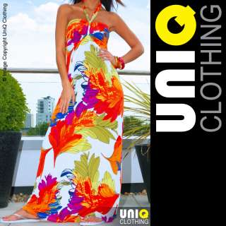 UNIQ P53 J Long Womens MAXI/ Boho/Hippie Summer DRESS