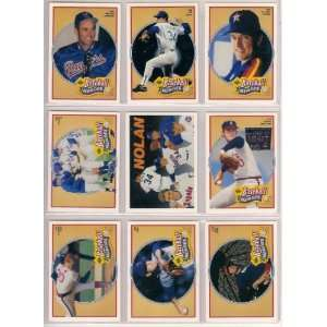 Nolan Ryan 1990 Upper Deck Baseball Super Hero Complete