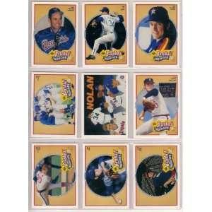 Nolan Ryan 1990 Upper Deck Baseball Super Hero Complete