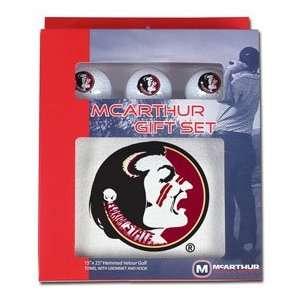 Florida State Seminoles FSU NCAA Golf Gift Box Set  Sports