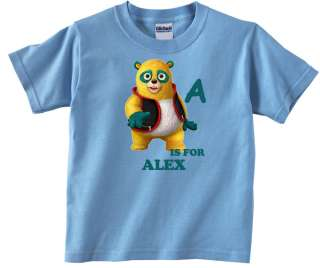 Personalized Custom Special Agent Oso ABC Blue Birthday T Shirt Add