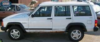 96 JEEP CHEROKEE (FOUR DOOR) DRIVERS (LEFT) FRONT SEAT BELT