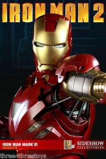 Factory Sealed Iron Man Mark VI Maquette Statue Sideshow MIB avengers