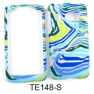 Green Zebra Print Hard Case/Cover/Faceplate/Snap On/Housing/Protector