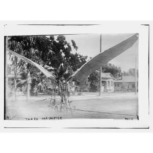 Twining ornithopter,flying machine with bird like wings