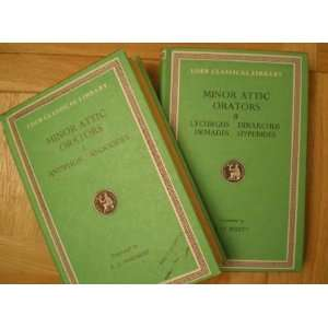 Minor Attic Orators Two Volume Set Books