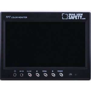 LCD Digital Color Monitor Display with RCA Connections: Electronics