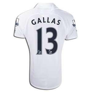 Puma Tottenham 11/12 GALLAS Home Soccer Jersey: Sports